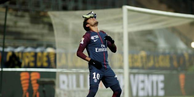 Neymar explique la raison de son étrange célébration lors d'Amiens-PSG