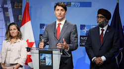 Canada's 70% Boost To Defence Spending Is Enough, Trudeau Tells