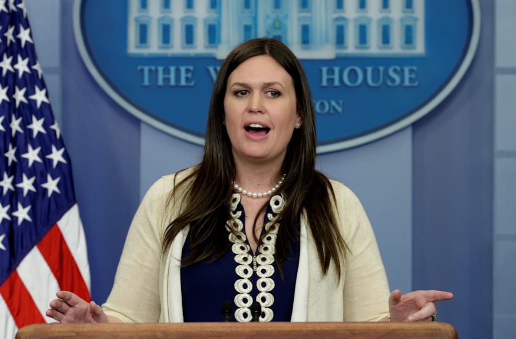 WATCH: Sarah Sanders holds daily White House press ...