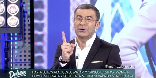 Jorge Javier Vázquez en 'Sábado Deluxe'.