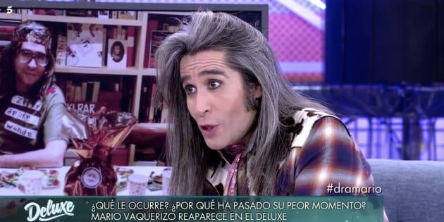 Mario Vaquerizo en 'Sábado Deluxe'.