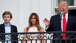 La foto di Trump