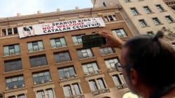 Les indépendantistes catalans ont profité des commémorations de l'attentat de Barcelone pour se faire