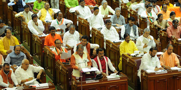 File photo of Uttar Pradesh Assembly on July 11, 2017 in Lucknow, India.
