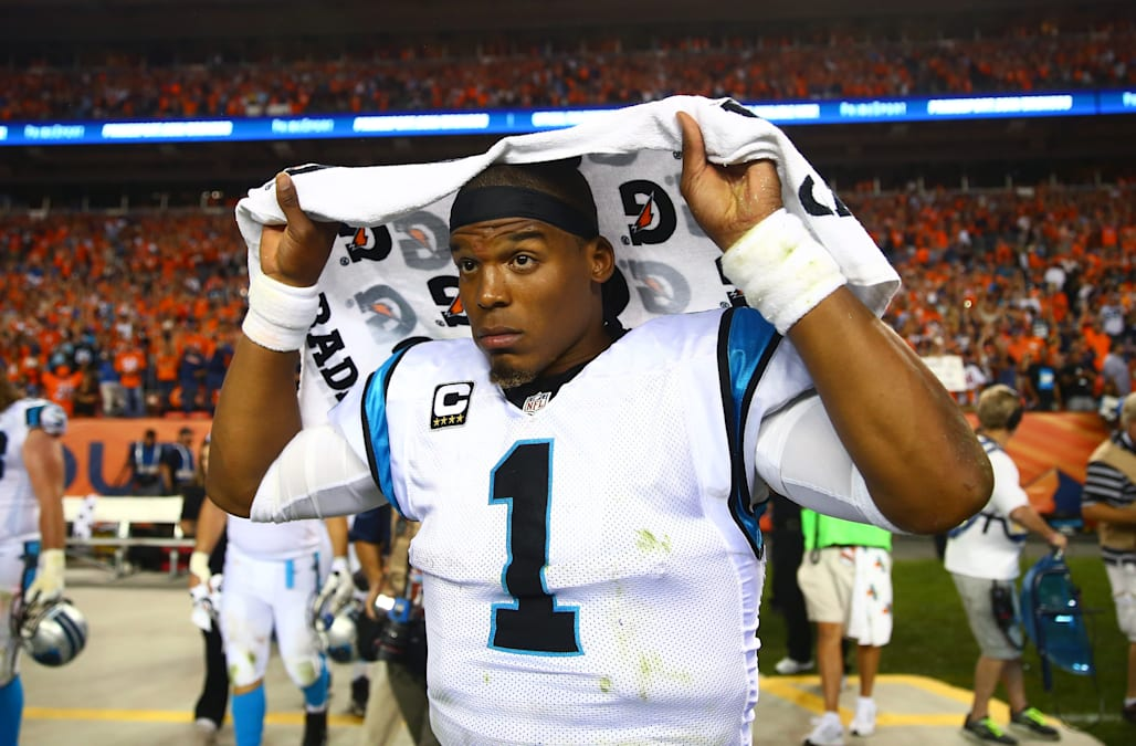 separation shoes ebd9b d35e7 Cam Newton apologizes for 'extremely unacceptable' remarks ...