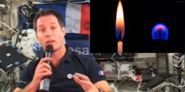 Pour l'anniversaire de Thomas Pesquet, est-il possible d'allumer des bougies dans l'espace?