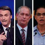 Ibope: Bolsonaro tem 26%; Ciro, 11%; Marina, 9%; Alckmin, 9%; e Haddad,