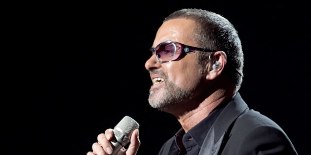 British singer George Michael performs on stage during a charity gala for the benefit of Sidaction, at the Opera Garnier in Paris, on September 9, 2012. Sidaction is a charity event which aims to collect money for the struggle against AIDS virus. AFP PHOTO MIGUEL MEDINA        (Photo credit should read MIGUEL MEDINA/AFP/GettyImages)