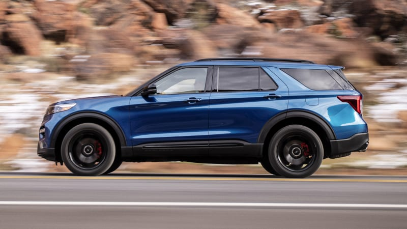 2019 Ford Explorer Limited Edition Redesign, Rumors, Release Date >> 2020 Ford Explorer St Gets Mercedes Original Tires And Here S Why