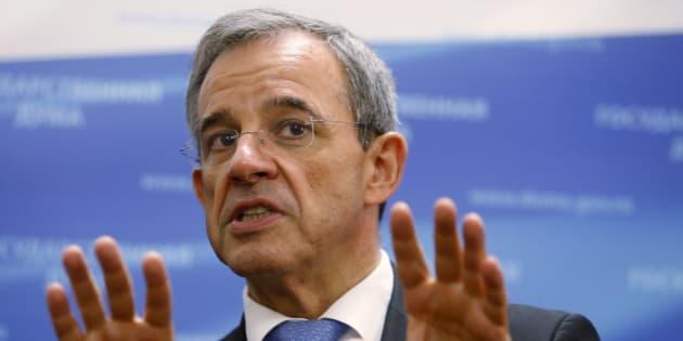 Thierry Mariani, ex-ministre de Nicolas Sarkozy, pourrait être en troisième position sur la liste du Front national aux européennes.