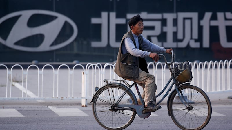 Hyundai suspends plant operations in China