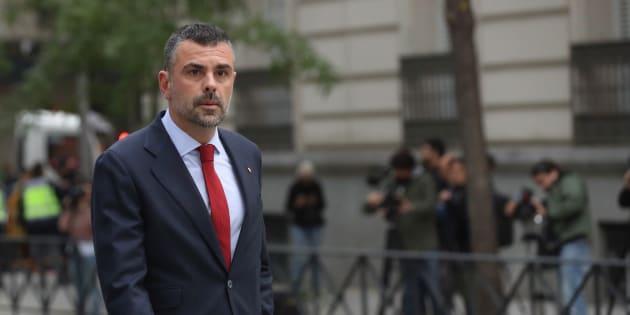 Santi Vila, exconsejero de Empresa de la Generalitat de Cataluña.