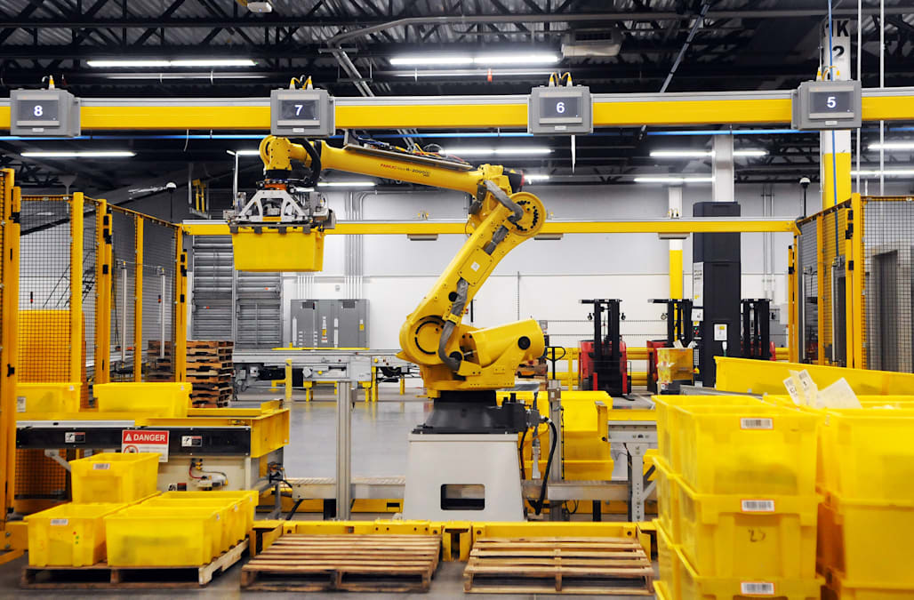 These are the industries most likely to be taken over by robots