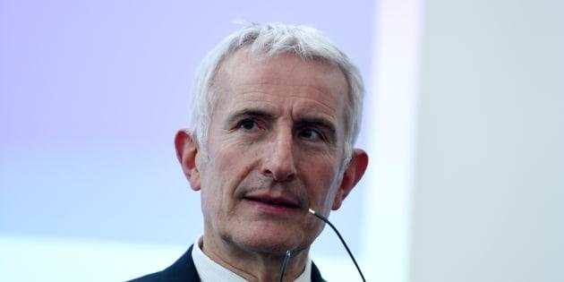 Guillaume Pepy à Saint-Denis le 7 mars 2018.