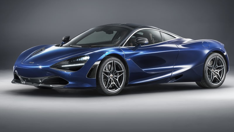 McLaren Special Operations shows off bespoke blue 720S in Geneva ...