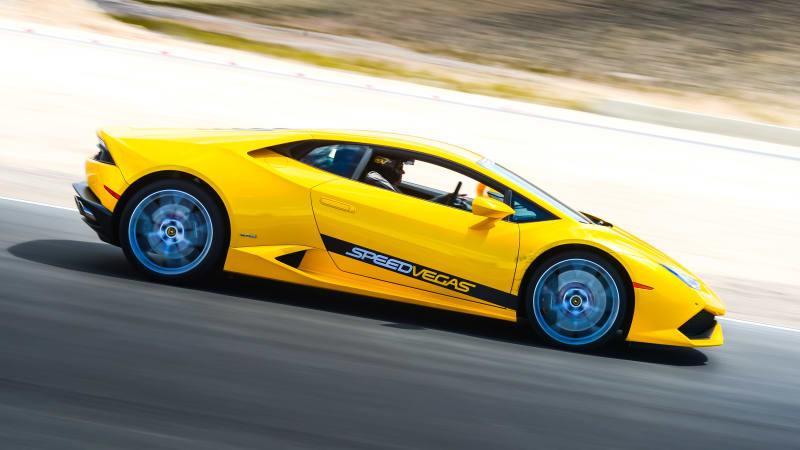 Two dead in Lamborghini crash at Las Vegas exotic car experience