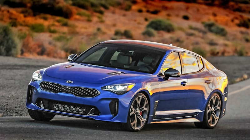 The 2018 Kia Stinger Gt Is A Performance Hatchback Similar To Audi A5 Autoblog