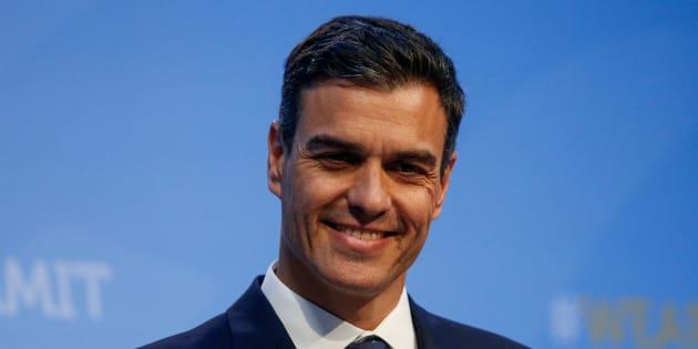 El presidente del Gobierno, Pedro Sánchez, durante la cumbre de la OTAN.