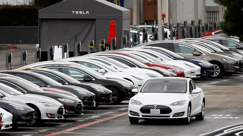 Tesla tops Toyota by one measure as its stock price soars