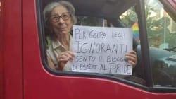Questa nonna calabrese è diventata un simbolo della lotta all'omofobia per una valida