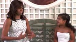 Michelle Obama le da un gran consejo de vida a una participante de 'MasterChef