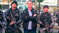 Bolsonaro critica intervenção: 'O militar não pode atirar, e ele tem que