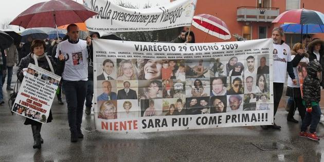Il sale sulla pelle delle vittime della strage di Viareggio