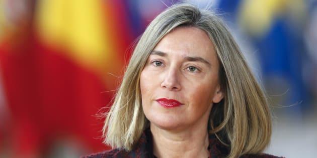 La alta representante de la Unión Europea para la Política Exterior, Federica Mogherini, retratada en Bruselas el pasado 22 de marzo.