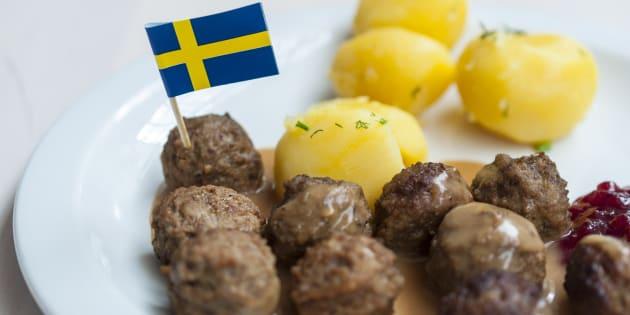 Les boulettes de viande suédoises d'Ikea sont en fait tout sauf suédoises