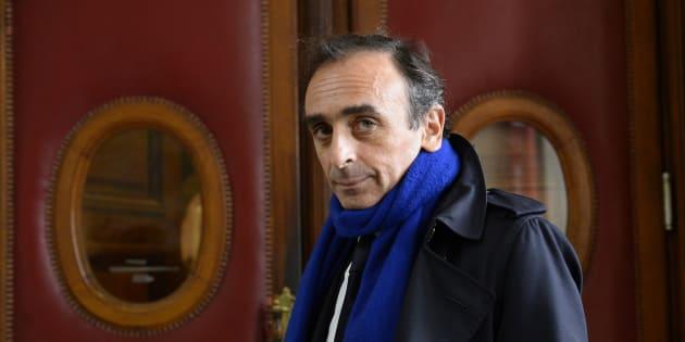 Eric Zemmour à Paris le 6 novembre 2015.