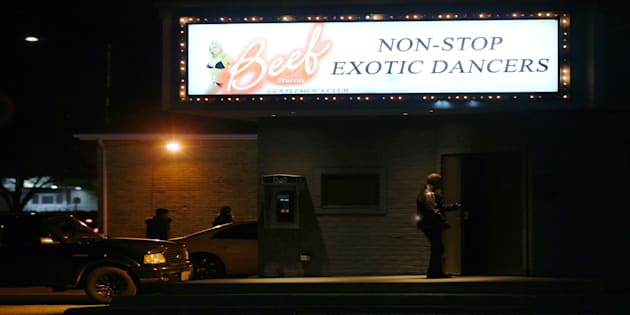 Drive thru strip club for sale