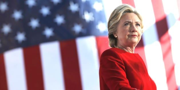 Hillary Clinton le 7 novembre 2016 à Pittsburgh, en Pennsylvanie.