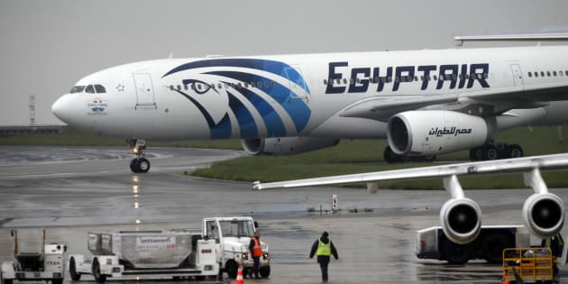 Le vol MS804 reliant Paris au Caire à l'aéroport Roissy-Charles-de-Gaulle le 19 mai 2016.