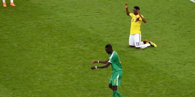 Le Sénégal éliminé de la Coupe du monde face à la Colombie à cause des cartons jaunes.