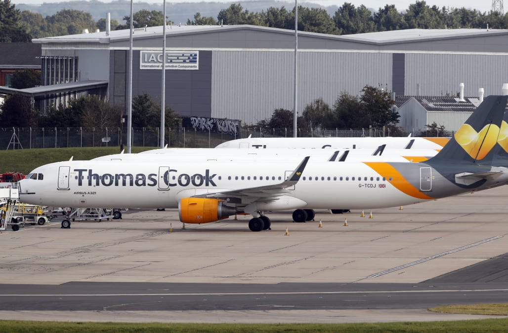 Rival airlines are hiking prices by as much as 400% after Thomas Cook collapsed - AOL
