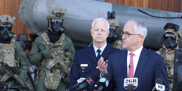 Australia to adopt reforms allowing military a larger role responding to terror