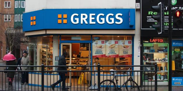 Une boulangerie de la chaîne Greggs à Londres.