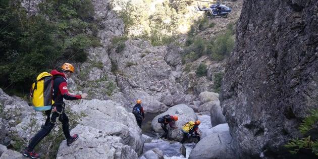 Le corps d'une 5e victime retrouvé dans le canyon de Zoicu en Corse