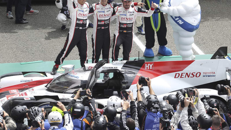 Alonso says 'luck decided' his second Le Mans victory