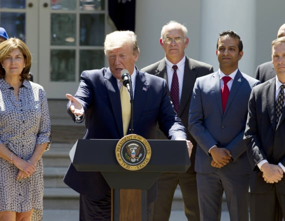 Trump warns of market crash if he loses in 2020