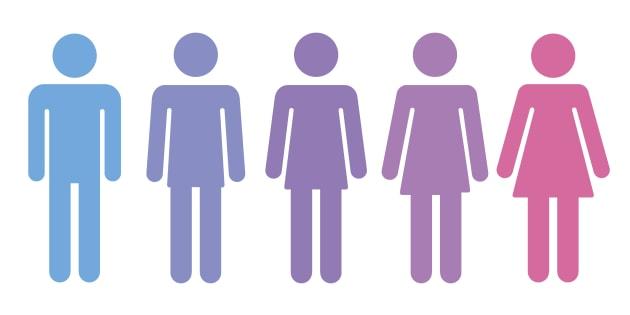 Pictogramme homme-femme (illustration)