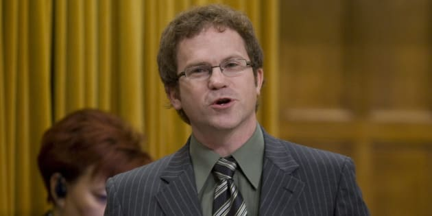 Liberal MP Scott Simms speaks in the House of Commons on Oct. 9, 2009.