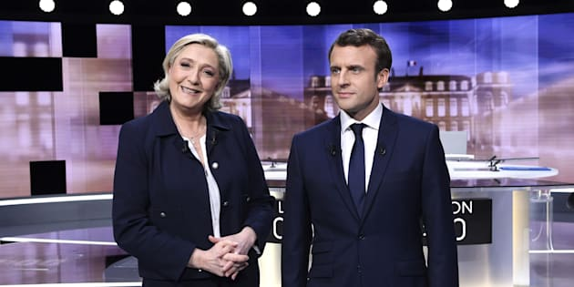 Face aux mensonges de Le Pen, Macron s'est imposé comme le candidat de la raison et de l'ouverture au débat.