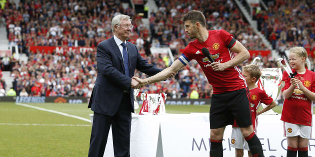 Sir Alex Ferguson à Manchester le 4 juin 2017.