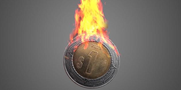 El peso mexicano cayó.