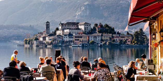 Os italianos não só prezam pela qualidade dos alimentos, como também pela qualidade de tempo para apreciá-los.