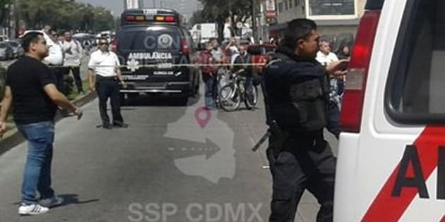 Policía frustra asalto, abate a ladrón y termina herido #VIDEO