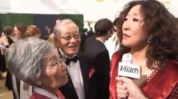 Sandra Oh est venue aux Emmys avec ses parents et c'était