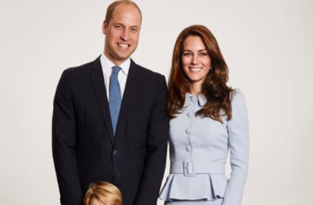 Duchess Kate and Prince William\'s Christmas card contains a bizarre ...