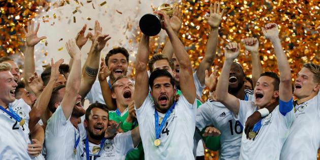 L'Allemagne décroche sa 1ère Coupe des Confédérations